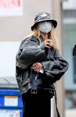 HAILEY BIEBER Out and About in West Hollywood 01/22/2021