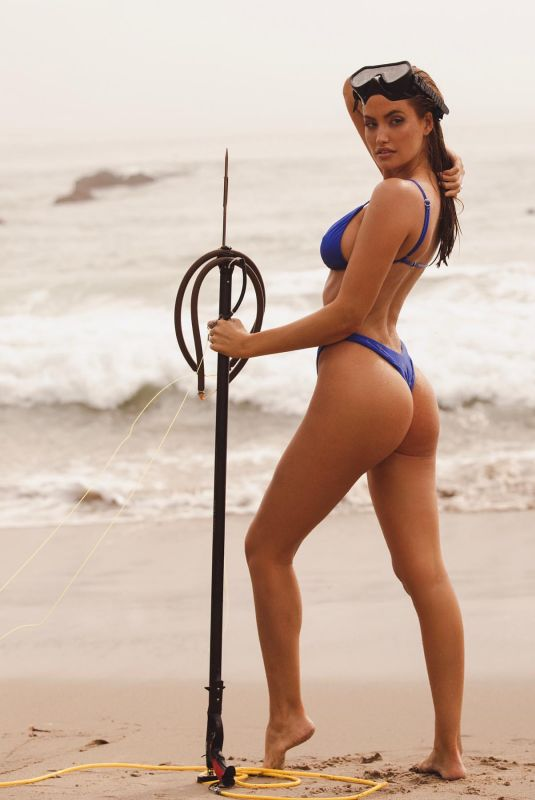 HALEY KALIL in Bikini at a Photoshoot in Malibu, January 2021