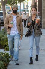 HAYLEY ERBERT and Derek Hough at Joe & the Juice in West Hollywood 01/26/2021