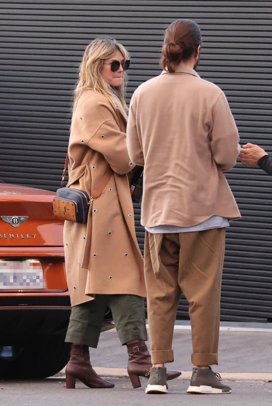 HEIDI KLUM and Tom Kaulitz Out in Los Angeles 01/03/2021