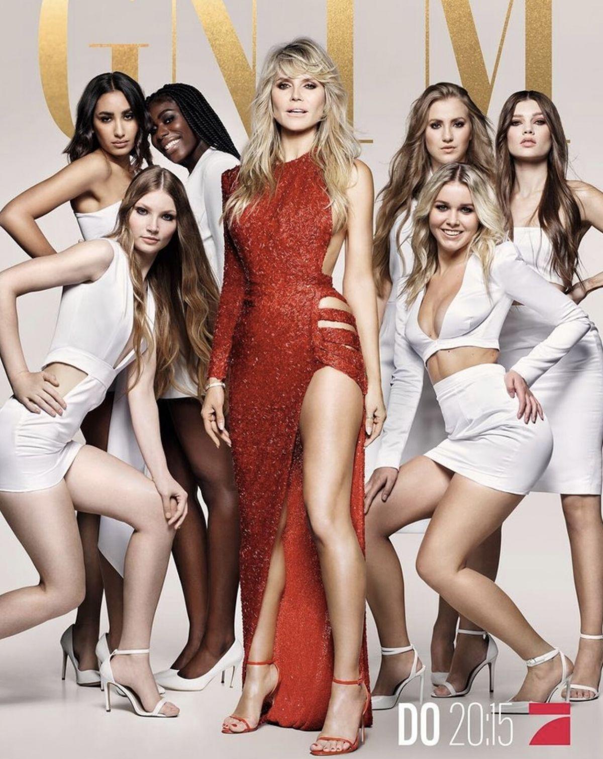 HEIDI KLUM - Germanys Next Top Model Promos, 2021