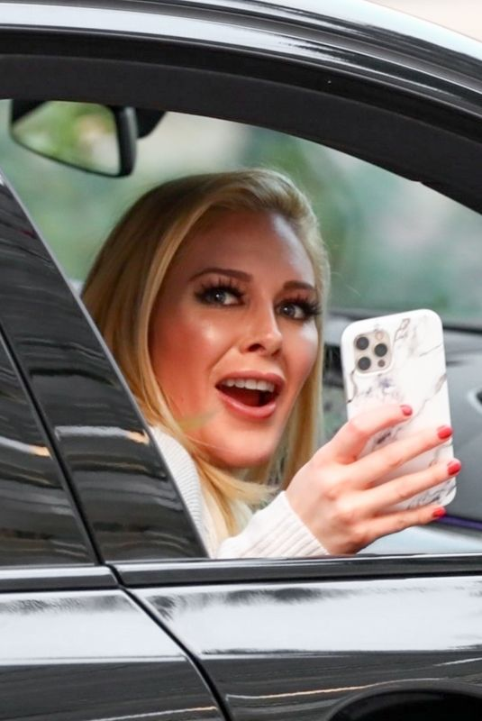 HEIDI MONTAG Out Driving in Beverly Hills 01/23/2021