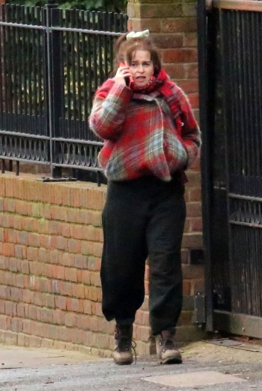 HELENA BONHAM CARTER Out in London 01/04/2021