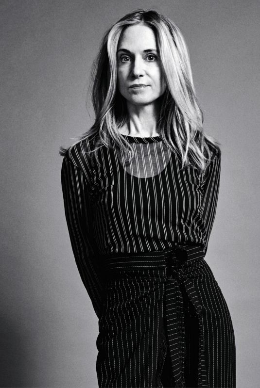 HOLLY HUNTER in Instyle Magazine, February 2021
