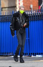 HUNTER SCHAFER Out for Coffee in Los Angeles 01/25/2021