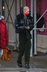 HUNTER SCHAFER Out in New York 01/26/2021
