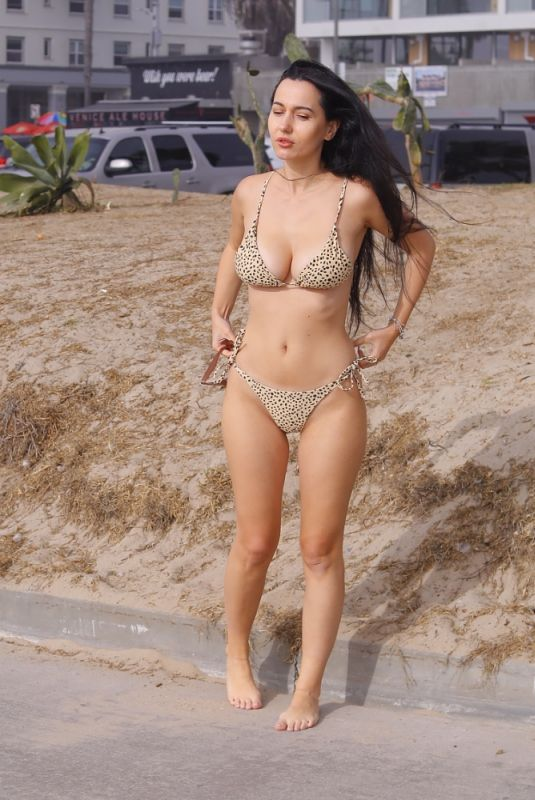 IVA KOVACEVIC in Bikini Out in Los Angeles 01/19/2021