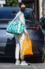 JAMIE CHUNG Shopping at Whole Foods in West Hollywood 01/20/2021