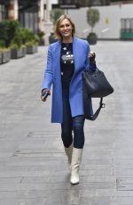 JENNI FALCONER Leaves Global Radio Studios in London 01/26/2021