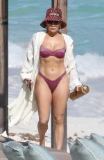JENNIFER LOPEZ in Bikini at a Beach in Turks and Caicos 01/06/2021
