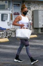 JENNIFER LOPEZ Leaves a Gym in Miami 01/24/2021