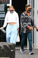 JENNIFERLOPEZ Out and About in Miami 01/12/2021