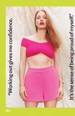 JESSICA CHASTAIN in Shape Magazine, January 2021 Issue