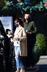 JORDANA BREWSTER and Mason Morfit Out for Coffee in Brentwood 01/21/2021