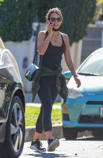 JORDANA BREWSTER Leaves a Gym in West Hollywood 01/20/2021