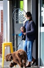 JORDANA BREWSTER Out for Coffee in Brentwood 01/13/2021