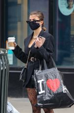 JULIA FOX Out and About in New York 01/19/2021