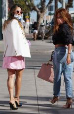 KAI MILLARD Out Shopping with a Friend in West Hollywood 01/29/2021