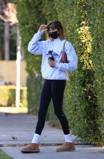 KAIA GERBER Out for Morning Workout in Los Angeles 01/26/2021