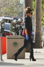 KATE BECKINSALE Out and About in Brentwood 01/14/2021