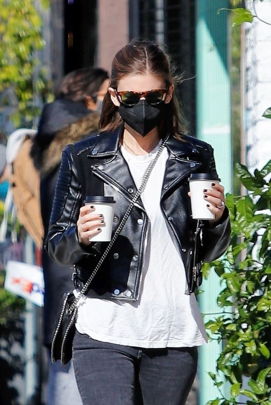 KATE MARA Out for Coffee in Los Feliz 01/25/2021