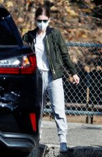 KATE MARA Out with Her Mom in Los Angeles 01/04/2021