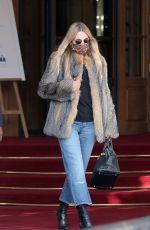 KATE MOSS Leaves Ritz Hotel in Paris 01/17/2021