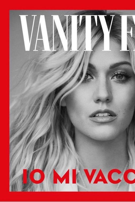 KATHERINE MCNAMARA for Io Mi Vaccino Campaign in Vanity Fair Italy, January 2021