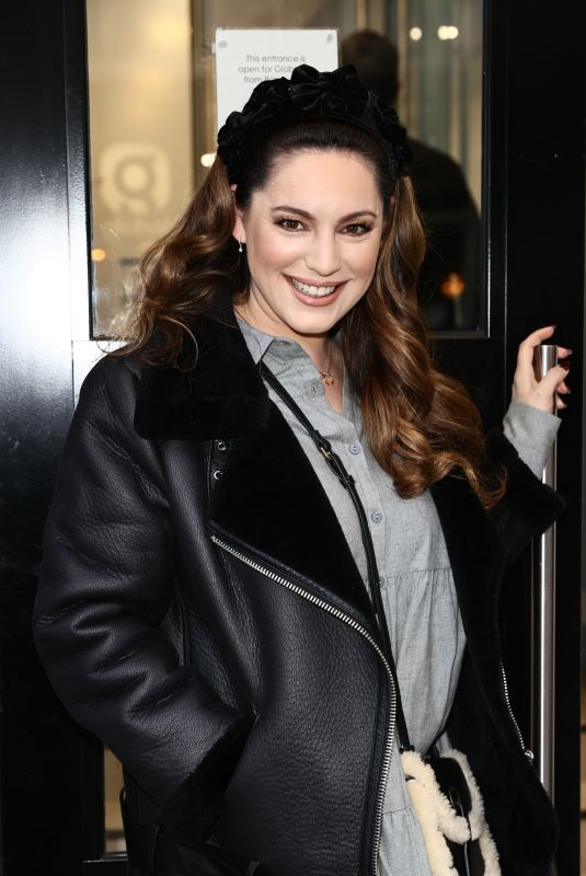 KELLY BROOK Arrives at Heart Radio in London 01/18/2021