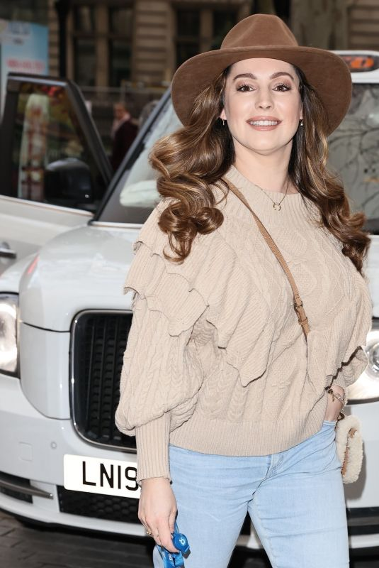 KELLY BROOK at Global Radio in London 01/15/2021