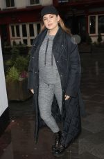 KELLY BROOK Out and About in London 01/13/2021