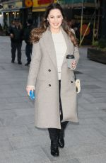 KELLY BROOK Out and About in London 01/22/2021