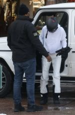 KENDALL and KRIS JENNER Out in Aspen 12/31/2020