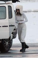 KENDALL and KYLIE JENNER Out in Aspen 12/29/2020