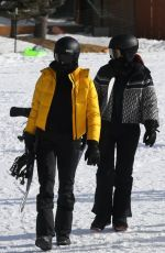 KENDALL and KYLIE JENNER Out Snowboarding in Aspen 01/02/2021