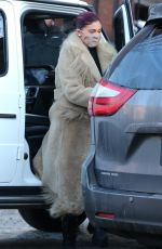 KENDALL and KYLIE JENNER Shopping at Ralph Lauren in Aspen 01/01/2021