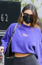 KENDALL JENNER Out in Los Angeles 01/12/2021