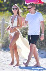 KIMBERLEY GARNER in Bikini at a Beach in Miami 01/26/2021