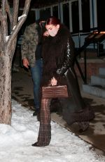 KYLIE and KENDALL JENNER Out for Dinner in Aspen 12/30/2020