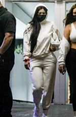 KYLIE JENNER and ANASTASIA KARANIKOLAOU Leaves a Skincare Clinic in Beverly Hills 01/22/2021