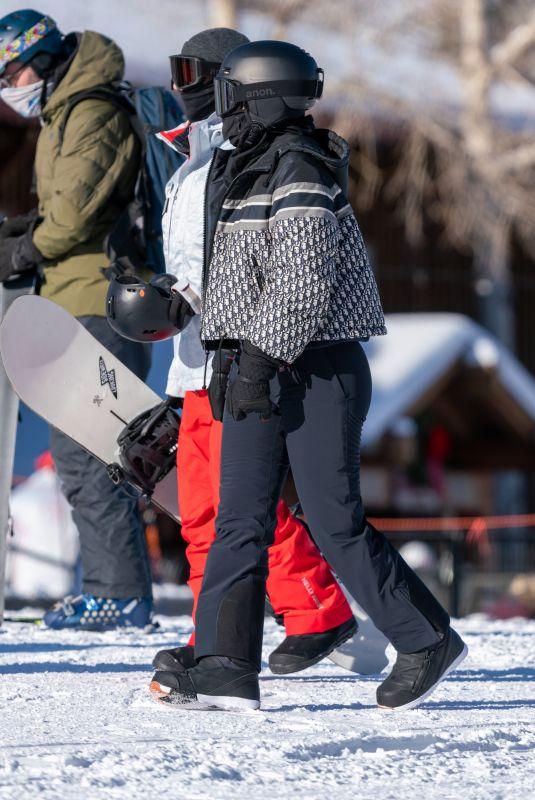 KYLIE JENNER at Buttermilk Ski Area in Aspen 01/02/2021