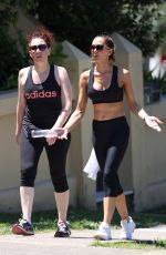 KYLY CLARKE Out Hiking with Friend in Bondi 01/25/2021