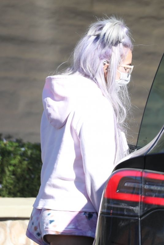 LADY GAGA Out for Groceries Shopping in Malibu 12/31/2020