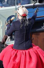 LADY GAGA Performs at 59th Presidential Inauguration in Washington, DC 01/20/2021