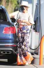 LAETICIA HALLYDAY Out and About in Los Angeles 01/16/2021