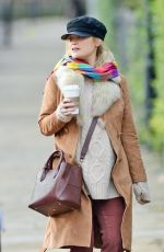 LAURA WHITMORE Out and About in London 12/30/2020