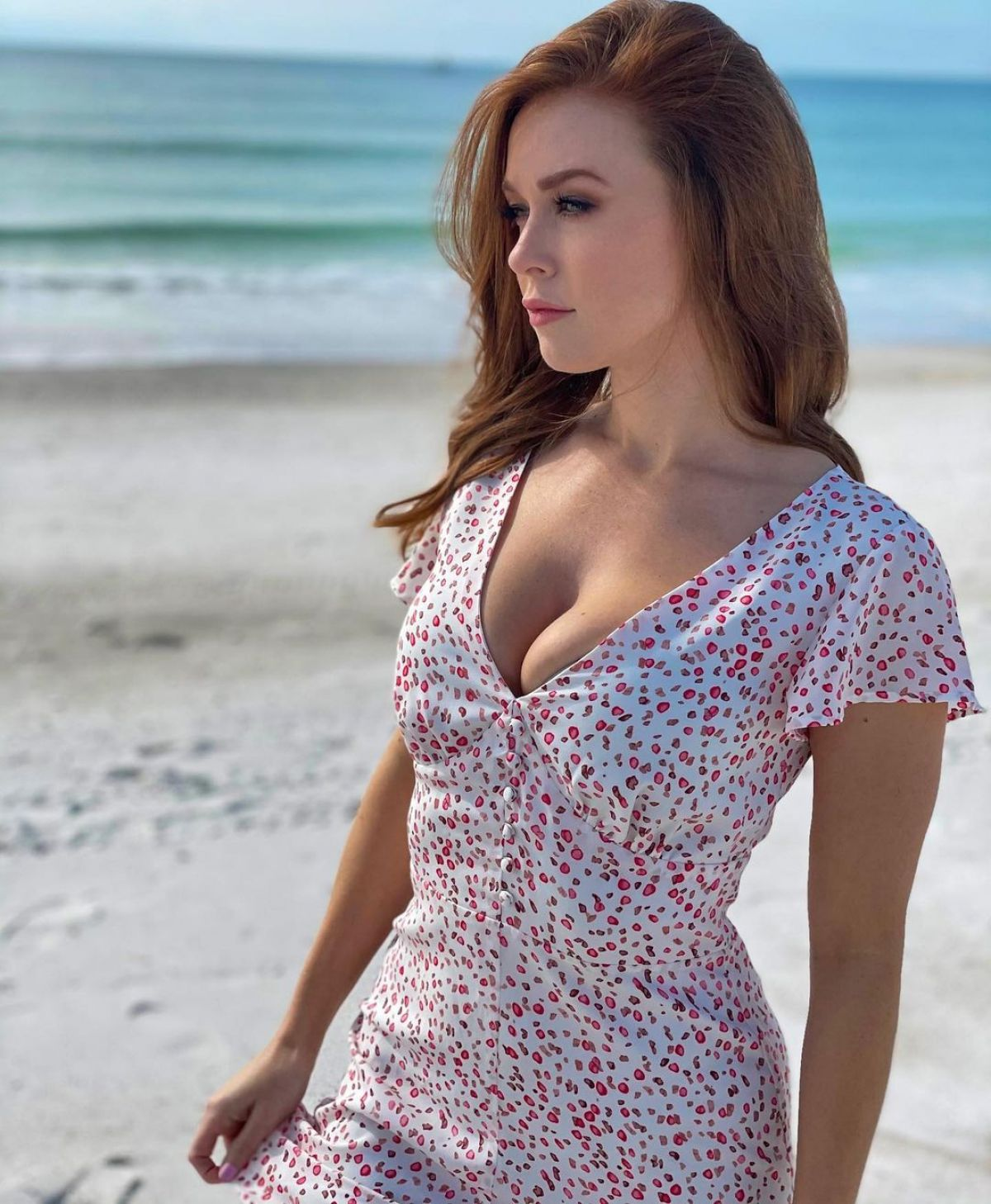 LEANNA DECKER at a Beach - Instagram Photos 01/16/2021