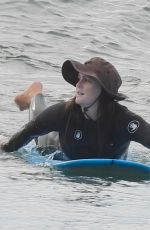 LEIGHTON MEESTER Out Surfing in Malibu 01/21/2021