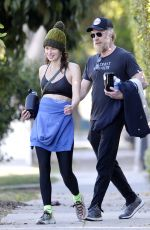 LENA HEADEY and Marc Menchaca Leaves a Gym in Hollywood 01/20/2021