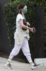 LENA HEADEY Heading to a Gym in Los Angeles 01/22/2021